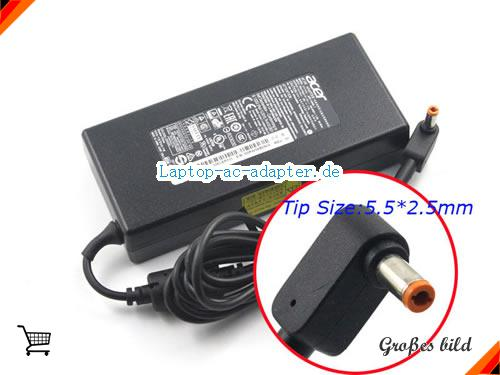 ACER PA3290U-2ACA adapter, 19V 7.1A PA3290U-2ACA Notebook Netzteile, ACER19V7.1A135W-NEW-5.5x2.5mm