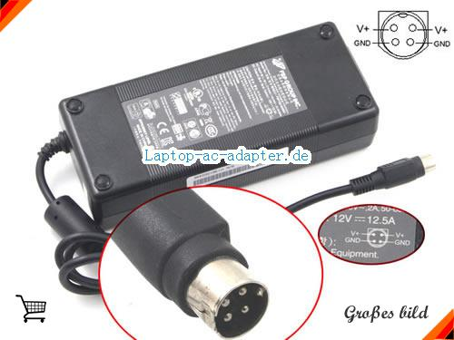 MEDION TS-400 adapter, 12V 12.5A TS-400 Notebook Netzteile, FSP12V12.5A150W-4PIN