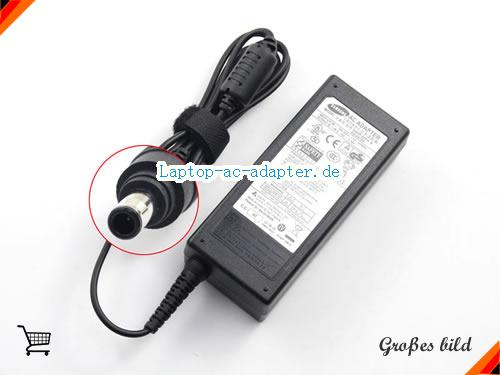 SAMSUNG M40 PLUS WVM 1600 adapter, 19V 3.16A M40 PLUS WVM 1600 Notebook Netzteile, SAMSUNG19V3.16A60W-5.5x3.0mm