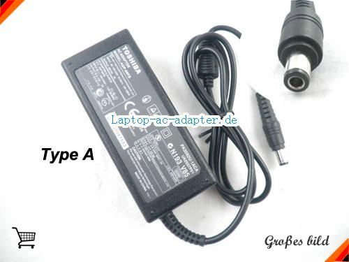 TOSHIBA SATELLITE 5200-902 adapter, 15V 5A SATELLITE 5200-902 Notebook Netzteile, TOSHIBA15V5A75W-6.0x3.0mm