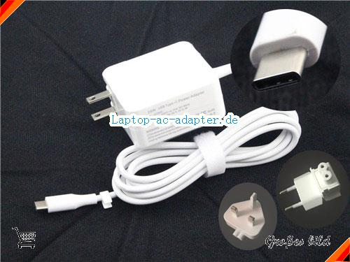 APPLE A1540 adapter, 14.5V 2A A1540 Notebook Netzteile, UN14.5V2A29W-Type-C-Wall-A290C-W